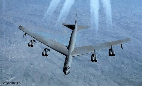 Боинг B-52 - американский стратегический бомбардировщик (3)