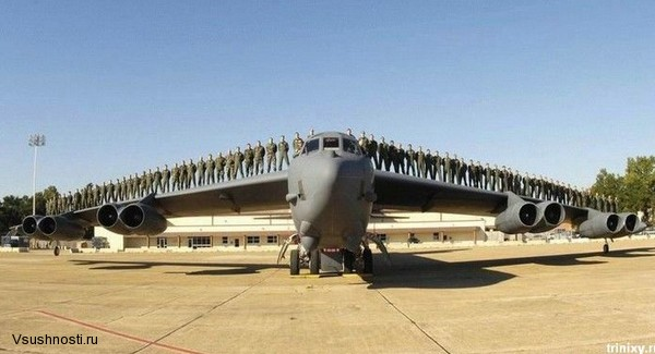 Боинг B-52 - американский стратегический бомбардировщик (4)