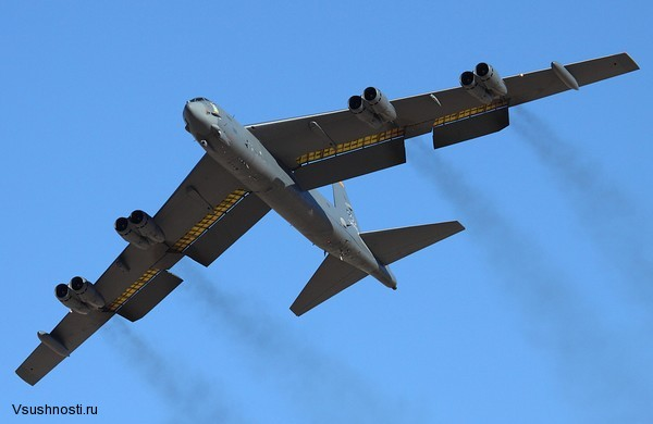Боинг B-52 - американский стратегический бомбардировщик (5)