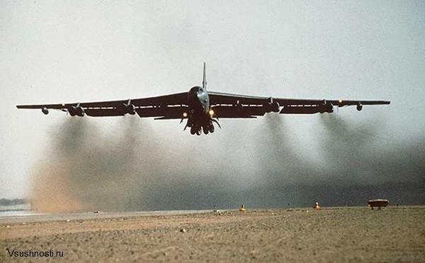 Боинг B-52 - американский стратегический бомбардировщик (6)
