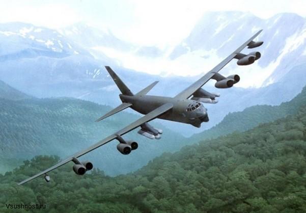 Боинг B-52 - американский стратегический бомбардировщик (8)